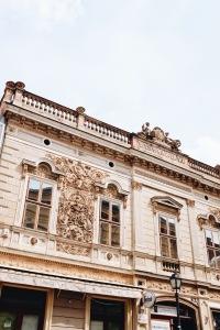 Haus Fassade in Pécs