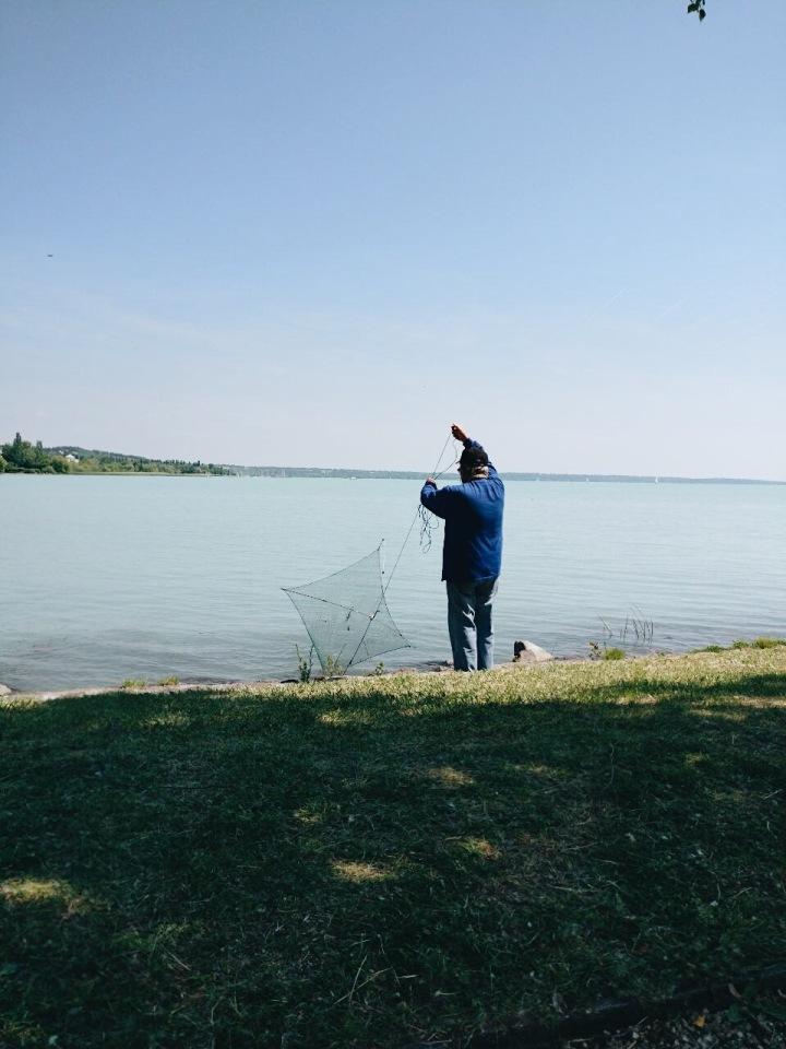 Fischer am Balaton