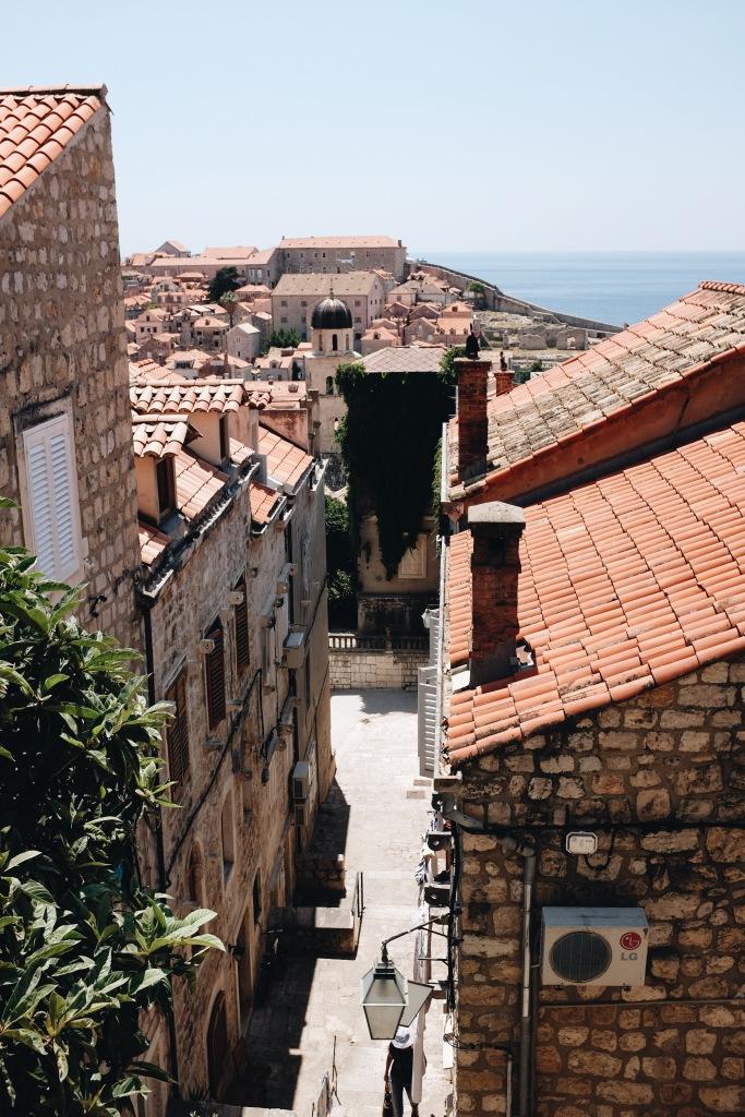 Blick über die Altstadt von Dubrovnik
