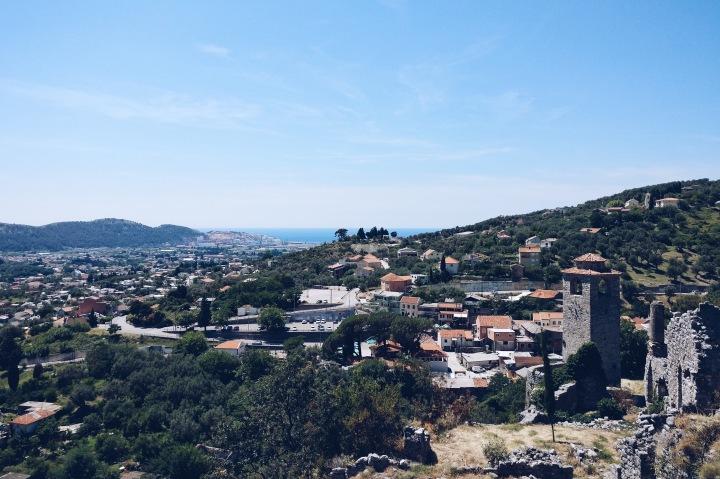 Ausblick Stadt Bar Adria