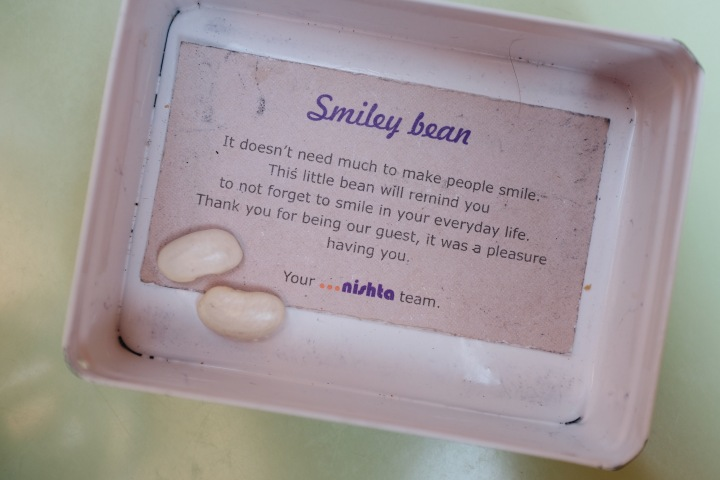 Bohnen Zitat smile