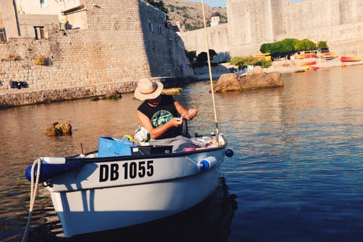 Fischer Hafen Dubrovnik