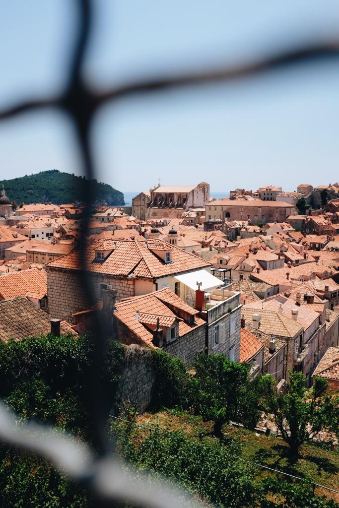 Blick auf die Altstadt  Dubrovnik