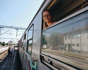 Train Zug Serbien