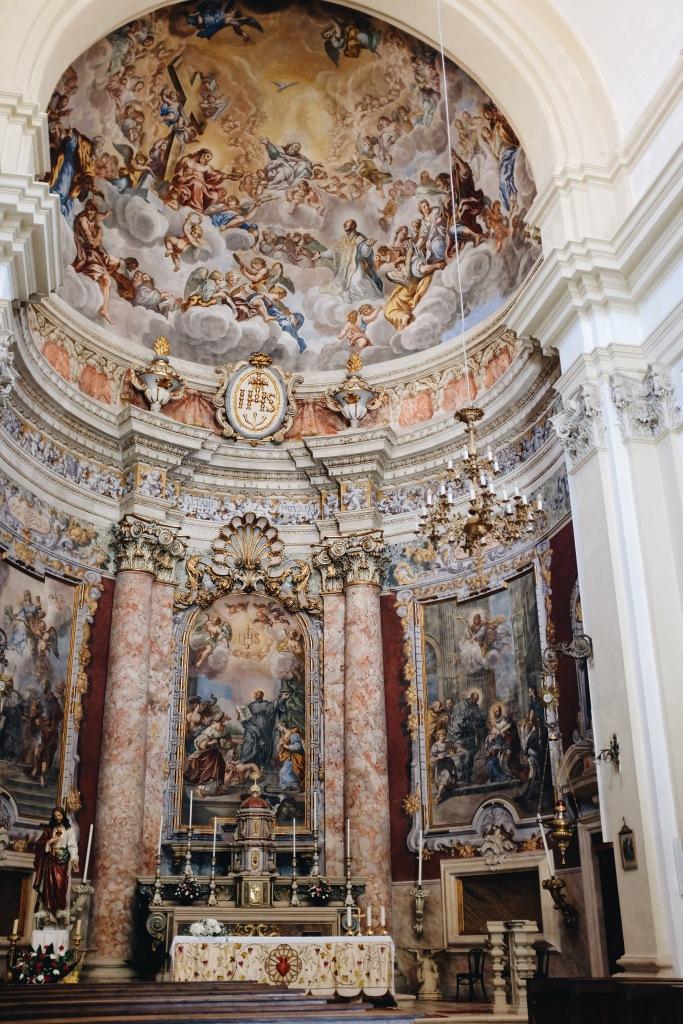 Kirche Altarraum Dubrovnik Altstadt