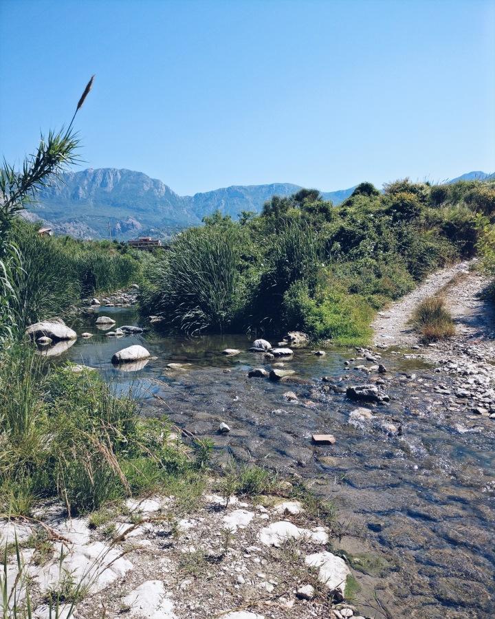 Bachlauf Bar Montenegro