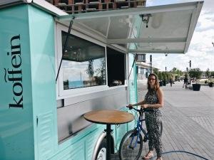 Fahrrad Belgrad Kaffee