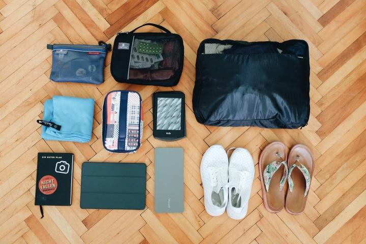 Gepäck zum reisen Backpacking