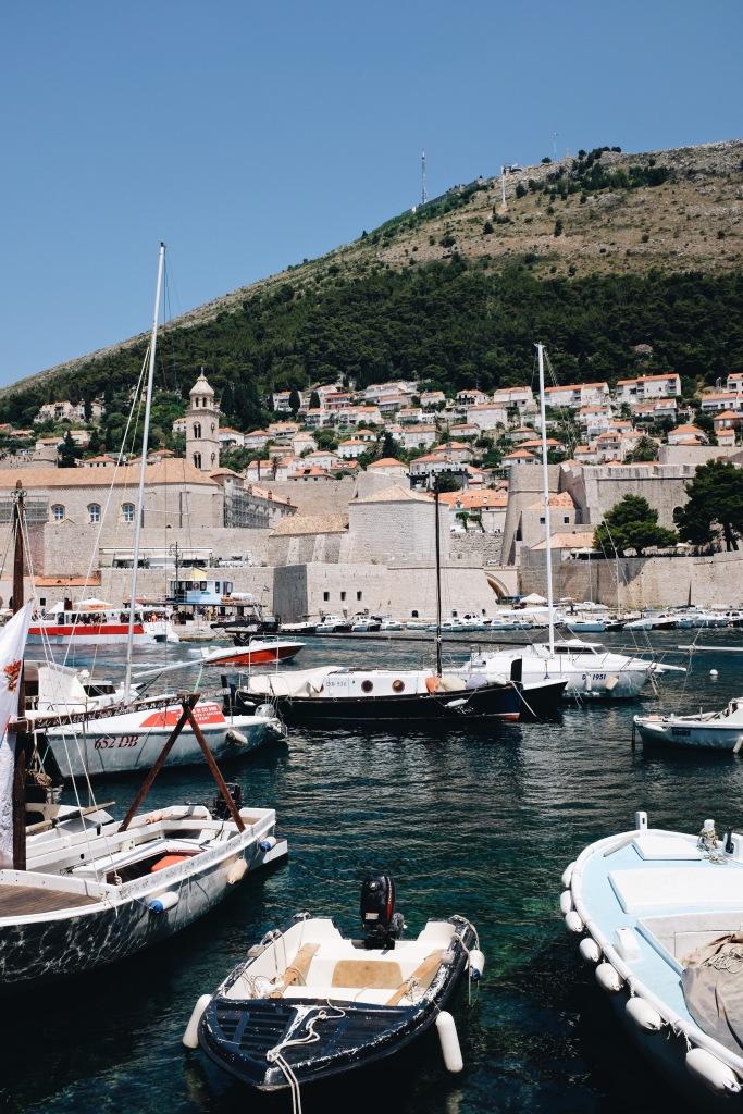 Hafen in der Altstadt Dubrovniks