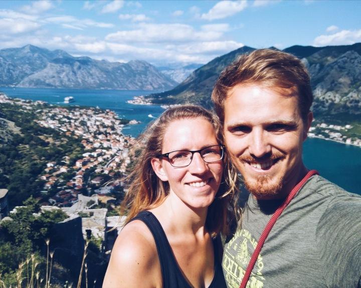 Über der Bucht von Kotor