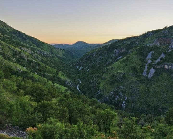 Landschaft Montenegro