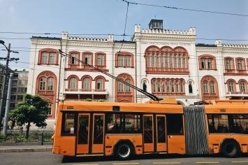 Busverkehr in Budapest