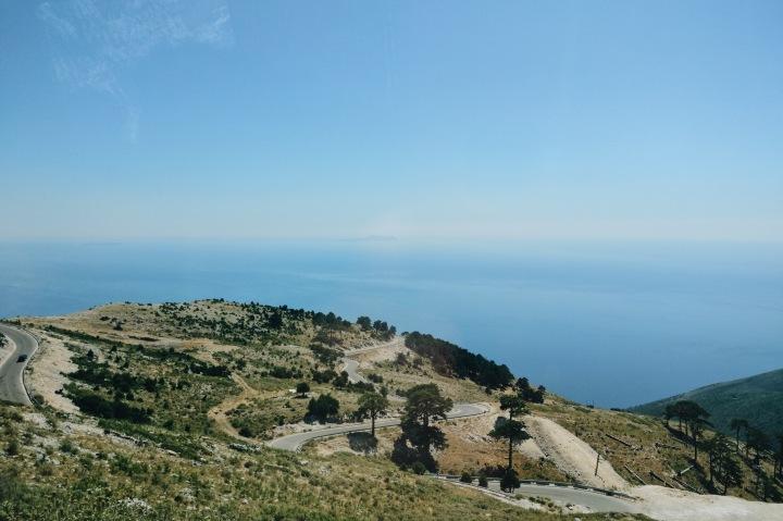 Küste Albaniens